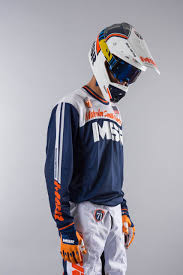 msr motocross gear msr m16 71 mx kit navy u0026 orange now 40 savings 24mx