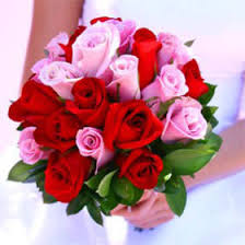 global roses order royal bridal bouquets with and pink roses global