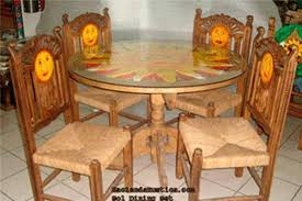 mexican dining table set mexican dining room furniture dining table style dining room