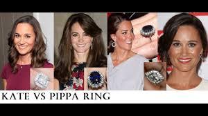 kate middleton s engagement ring kate middleton vs pippa middleton more than 350 000 engagement