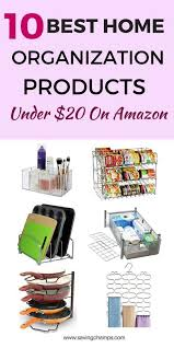10 best home organization products under 20 on amazon