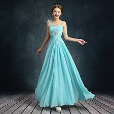 Dress For Wedding Party Blue Wedding Reception Dress Sleeveless Chapel With Ice Blue