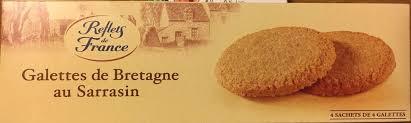 sachet pour biscuit galettes de bretagne au sarrasin reflets de france 120 g 4