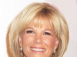 how to style hair like joan lunden joan lunden celebrity tv guide