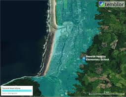 Map Of Seaside Oregon by Want To Be Tsunami Ready Follow This Town U0027s Example Temblor Net