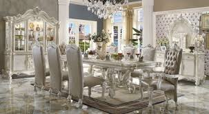 Royal Dining Room The Versailles White Royal Dining Room Collection Miami Direct