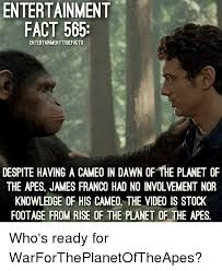 Planet Of The Apes Meme - 25 best memes about rise of the planet of the apes rise of the