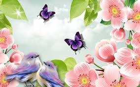 wallpaper with flowers and birds top hd flowers and birds photos