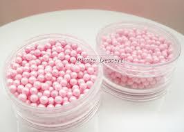 edible sugar pearls 4mm dragees sugar sprinkles edible cake