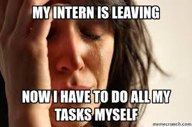 Intern Meme - intern