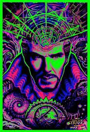 large black light posters doctor strange movie poster 19 of 29 imp awards