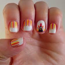 thanksgiving turkey nail art dahlia nails november 2014