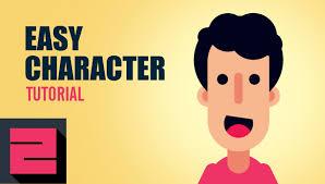 illustrator tutorial vectorize image vector easy flat character illustrator tutorial zipup youtube