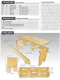 outdoor bench seat plans u2022 woodarchivist