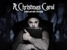 review a christmas carol a black and white silent play silent