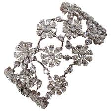 diamond flower bracelet images 3588 best bracelet cuff bangles images cuff jpg