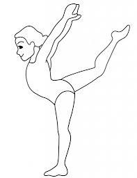 gymnastics coloring pages businesswebsitestarter com