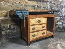 Antique Woodworking Benches Sale by Antique Workbench Ebay