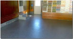 applying garage floor paint and epoxy house painting tips