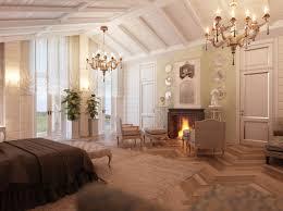 gray finish oak wood nightstand bedroom gas fireplace romantic