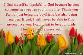 i find myself so thankful to birthday wish for boyfriend