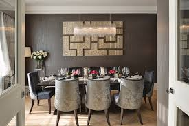 Grey Velvet Dining Chairs Dining Room Brown U0026 Gold Interior Luxurious Feel Velvet Dining