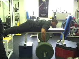Bench Barbell Row High Bench Cambered Bar Rows Youtube