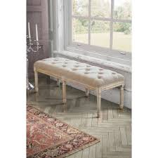 Shabby Chic Bench French Louis My Furniture