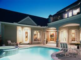 house plans with swimming pools the house plan shop house plans designed for swimming pools