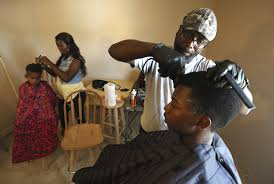 back to fair barbers give cuts and confidence herald whig