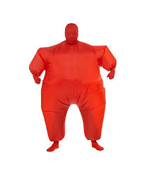 inflatable costume halloween red halloween costumes