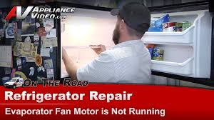 refrigerator evaporator fan replacement kenmore whirlpool refrigerator repair evaporator fan motor is