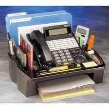 telephone stand desk organizer desktop phone stand and organizer onestop ergonomics