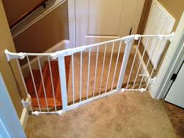 Safety Gates For Stairs With Banisters Traditional Safety At Bottom Of Stairs Gate Ideas Safety At