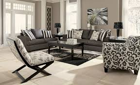 Living Room Furniture For Tv Levon Charcoal Living Room Set From Ashley 73403 Coleman Furniture