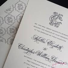 Calligraphy Wedding Invitations Wedding Invitations Jennifer Calligrapher