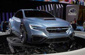 subaru viziv 2018 subaru hints at next gen wrx with viziv performance concept