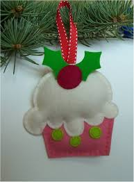 love this cupcake ornament would be so easy to make