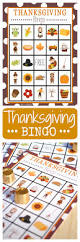 thanksgiving picture cards thanksgiving bingo crazy little projects