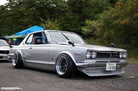 stanced nissan skyline so i heard that some of you are fans of the nissan skyline