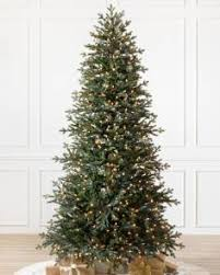 artificial tree lights problem pre lit christmas trees with clear led lights balsam hill