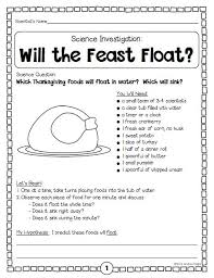 thanksgiving science thanksgiving worksheets festival collections