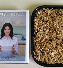 cuisine tv nigella weekend breakfast treat nigella s toasty olive granola