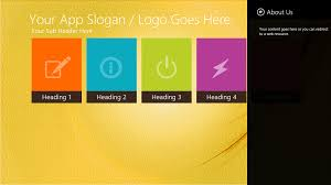 windows 8 designs windows 8 app design template blocks geekch component