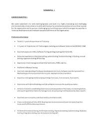 Software Tester Resume Manual Testing Resume Format Samples Resume Format