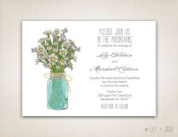 jar wedding invitations jar wedding invitations