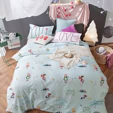 Blue Bed Sets For Girls by Online Get Cheap Kids Bedding Blue Aliexpress Com Alibaba Group