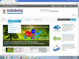 registering domain at krishnahosting