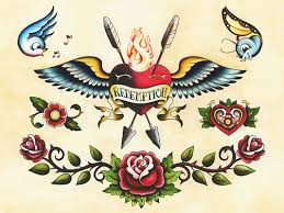 traditional american style tattoo flash 40 best eagle skull