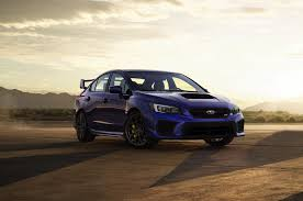 subaru indonesia subaru updates the wrx and sti for 2018 with new face brakes